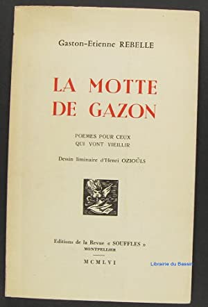 motte gazon by gaston etienne rebelle henri oziouls abebooks. Black Bedroom Furniture Sets. Home Design Ideas