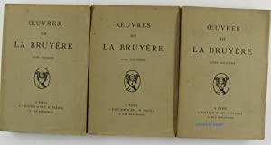 Oeuvres 3 volumes