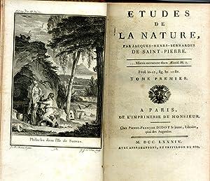 Etudes de la nature.: BERNARDIN DE SAINT-PIERRE (Jacques-Henri),