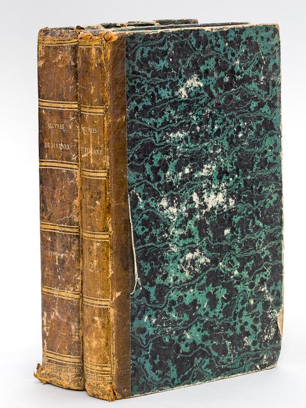 Oeuvres complètes de Pindare (2 Tomes - Complet) Avec le texte en regard, et des notes à la fin de chaque ode. PINDARE ; (TOURLET, R.) Hardcover