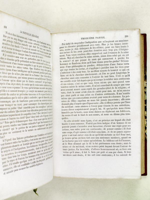 Julie Ou La Nouvelle Héloïse Lettres De
