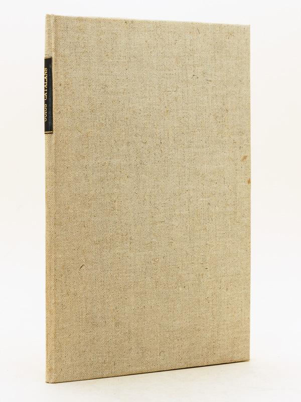 Goigs catalans. 1er Fascicule. Edition Musicale des: MAS, A. ;