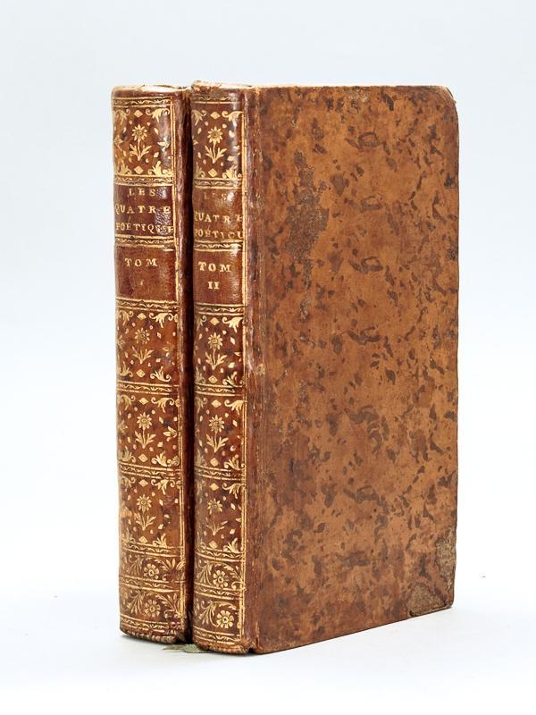 Les Quatre Poëtiques : d'Aristote, d'Horace, de: BATTEUX, Abbé ;