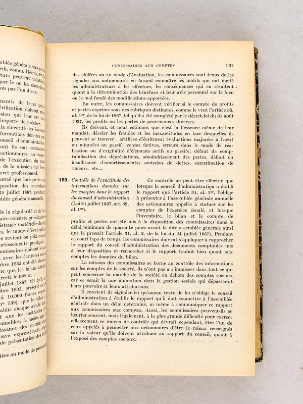 reputable site finest selection another chance La Société Anonyme. Traité Pratique (5 Tomes...