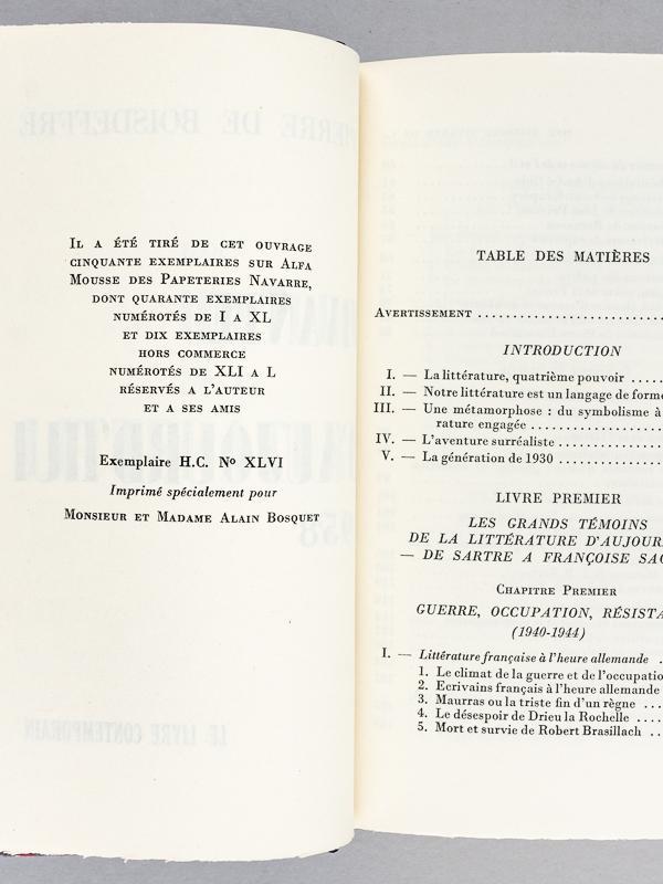 Histoire De La Erstausgabe Signiert