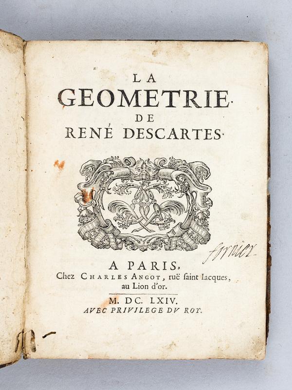 Resultado de imagen de la géométrie descartes
