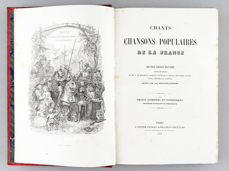 Chants et chansons populaires de la France. [I .(Éd.1854) - Collectif