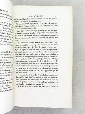 Documents relatifs au Régime Hypothécaire et aux Réformes qui ont ét&...