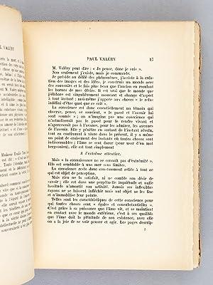 Paul Valéry. Essai. [ Livre dédicacé par l'auteur ]: FERNANDAT, René