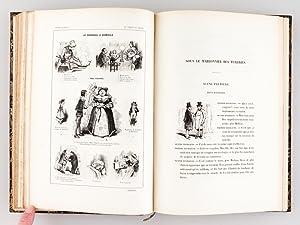 Le Tiroir du Diable. Paris et les Parisiens. Moeurs et Coutumes, Caractères et Portraits des...