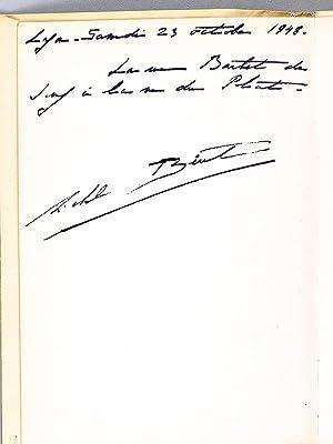 Images de Paris. 12 burins de Michel Béret. [ Livre dédicacé par l'un des...