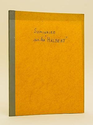 Séminaire sur les espaces de Hilbert.: COLMEZ, Professeur