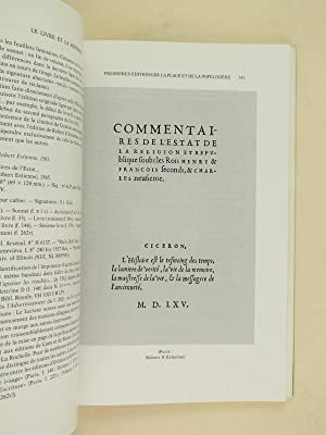 Le Livre et la Réforme.: PETER, Rodolphe ; ROUSSEL, Bernard ; Collectif