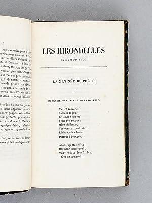Les Hirondelles de Mussonville ou Les distractions poétiques de l'Ecolier.: Abbé J.-B. ...