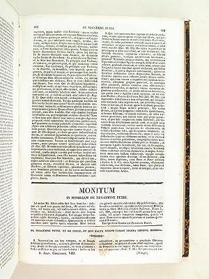 Patrologiae Cursus Completus. Sancti Joannis Chrysostomi Opera Omnia [ Tomes 8 et 9 ] Tomus Octavus...