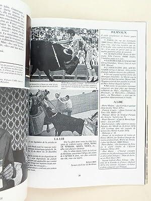 Les Cahiers de la corrida. N°1 avril 1979. Ainsi parle Miura. Tauromachie à la fran&...