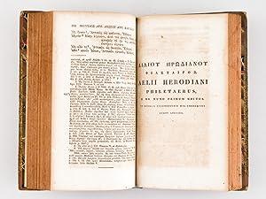 Moeridis Atticistae Lexicon Atticum cum Jo. udosni, Steph. Bergleri, Claud. Sallierii aliorumque ...