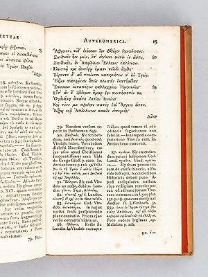 Ioannis Tzetzae Antehomerica Homerica et Posthomerica e codicibus ededit et commentario instruxit ...