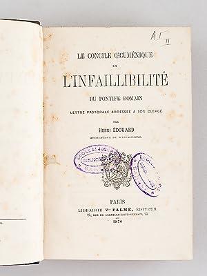 Mélanges théologiques ] Le Concile oecuménique et l'infaillibilité...