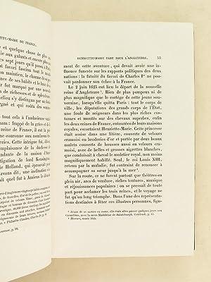 Henriette-Marie de France, reine d'Angleterre. Etude historique par le comte de Baillon, ...