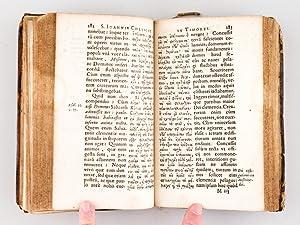 Sancti Ioannis Chrysostomi De Educandis Liberis Liber aureus. Eiusdem Tractatus alij quinque, qua ...