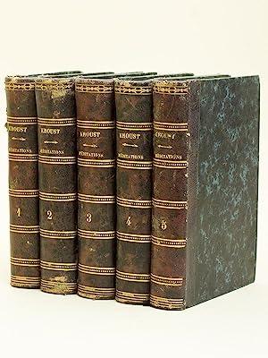 Meditationes de Praecipuis Fidei Mysteris ad usum Clericorum (5 Tomes - Complet): KROUST, Joann. ...
