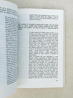 Les deux lettres à Timothée , commentées par Joseph Reuss ( coll. Parole et ...