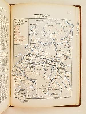 Lot de 2 livres ] Cartes et Croquis des Campagnes de 1589 à 1789 avec sommaires explicatifs ...