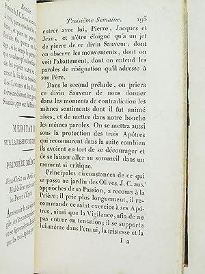 Retraite d'après les Exercices Spirituels de Saint Ignace.: BOUCHER, J.B.A.