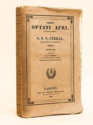 Collectio Selecta SS. Ecclesiae Patrum : S.: S. OPTATUS MILEVITANUS
