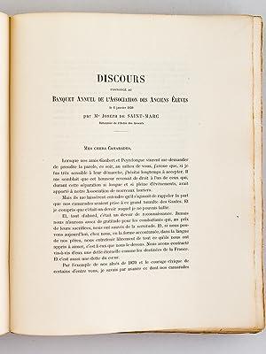Livre d'Or 1914 - 1918. Ecole Libre Saint-Joseph de Tivoli. Bordeaux.: Collectif