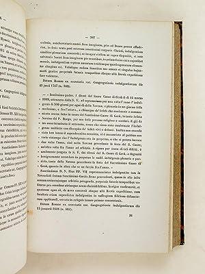 Resolutiones Authenticae quas nulla dempta, meliori ordine disposuit. Sacrae Congregationis ...