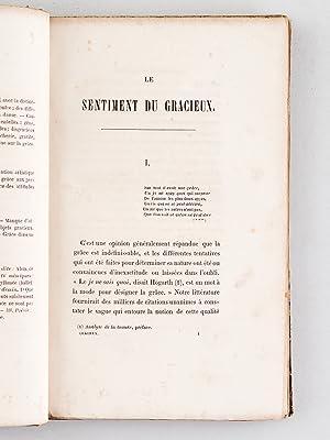 Le Sentiment du Gracieux [ Edition originale ]: DUMONT, Léon