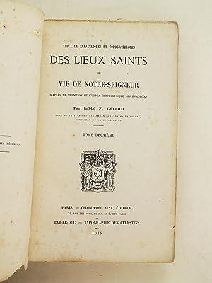 Tableaux évangéliques et topographiques des Lieux Saints ou Vie de Notre-Seigneur d&#...
