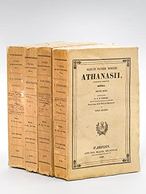 Collectio selecta SS. Ecclesiae Patrum [ Oeuvres de S. Athanase : 4 Tomes - Complet ] Tome I : Vi...