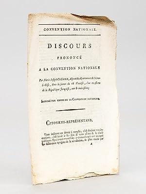 Discours prononcé à la Convention Nationale par Marie-Joseph Chénier, d&eacute...