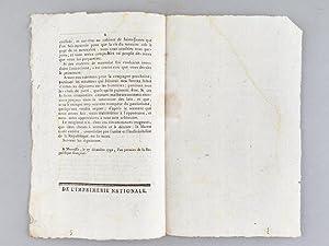 Adresse du Département des Bouches-du-Rhône à la Convention Nationale, Imprim&...