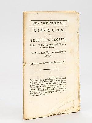 Discours et Projet de Décret de Henry Bancal, Député du Puy-de-Dôme &...
