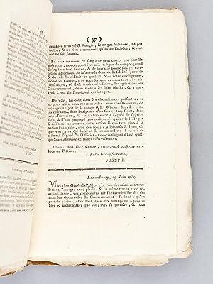 L'Espion Dévalisé ou Correspondance Secrète et Originale entre l'...