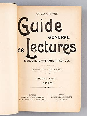 Romans-Revue. Guide Général de Lectures, Mensuel, littéraire, pratique. Sixi&...