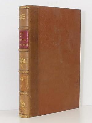 Revue des Questions Scientifiques. Deuxième Série. Tome XXXIV Année 1893 [ ...
