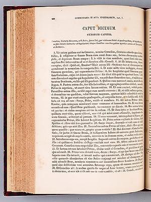 Commentaria in Scripturam Sacram. Tomus Decimus Septimus [ Tome 17 ] : In Acta Apostolorum: LAPIDE,...