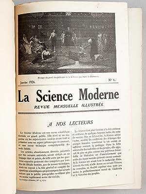 La Science Moderne. Revue Mensuelle Illustrée (8 Tomes - Complet : Années 1924 - 1925...
