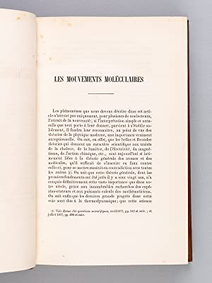 Revue des Questions Scientifiques. Quatrième Année Tome Septième 1880 : [ ...