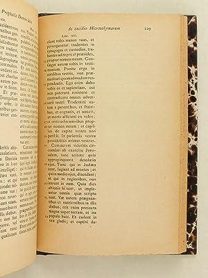 Vita Vitae Nostrae. Meditantibus proposita.: COLERIDGE, Henrico Jacobo