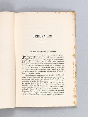 Jérusalem. Restauration archéologique.: AUCLER, Paul