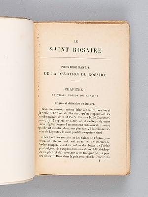 Manuel doctrinal et pratique du Saint-Rosaire.: ROUSSET, Matthieu-Joseph