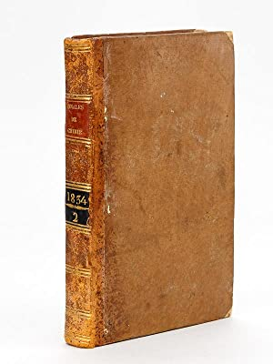 Annales de Chimie et de Physique. 1834 - Volume 1 : Tome LVI [ Tome 56 ] : Recherches de Chimie ...