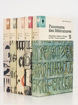 Panorama des littératures ( 5 tomes sur 8 : tomes 1 , 2 , 3, 4, 5) : 1. Mésopotamie, ...