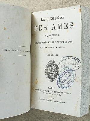 La légende des âmes ( complet - 2 tomes reliés en un vol. ): ALCAN, Eugène